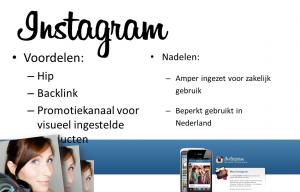 voordelen aan instagram