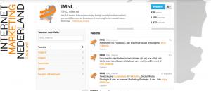 Internet Marketing Nederland Academy Twitter achtergrond